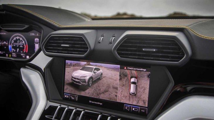ตัวอย่างดีไซน์ภายในพร้อมเทคโนโลยีของตัวรถ