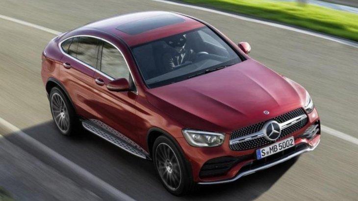 Mercedes-Benz GLC Coupe 2019 รุ่นปรับโฉมย่อย มีการออกแบบไฟหน้า LED ดีไซน์ใหม่