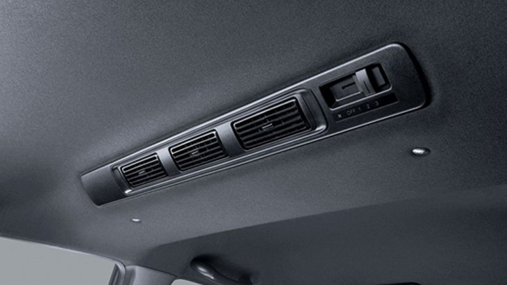 Honda BR-V 2019 ให้ความเย็นสดชื่นด้วยระบบปรับอากาศแบบอัตโนมัติ พร้อมระบบปรับอากาศแยกส่วนสำหรับผู้โดยสารตอนหลัง