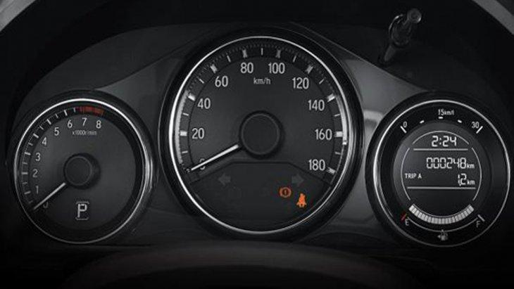 Honda BR-V 2019 ได้รับการติดตั้งหน้าจอแสดงผลการขับขี่แบบ MID พร้อมมาตรวัดแบบเรืองแสงสีขาวรวมถึงไฟแสดงผลการขับขี่แบบประหยัด (Eco Indicator)
