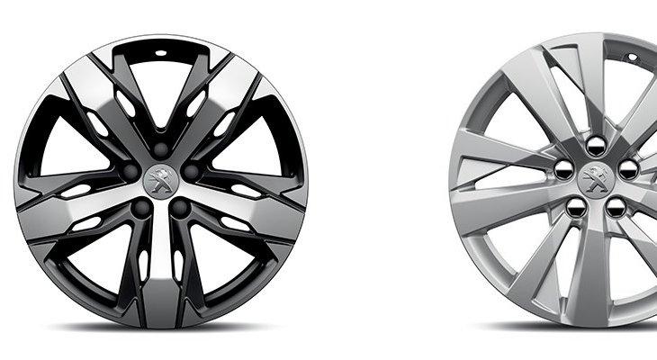 """เสริมความเป็นสปอร์ตให้กับ Peugeot 3008 (2019)  ด้วย ล้ออัลลอยขนาด 17 """"CHICAGO และ 18 '' LOS ANGELES"""