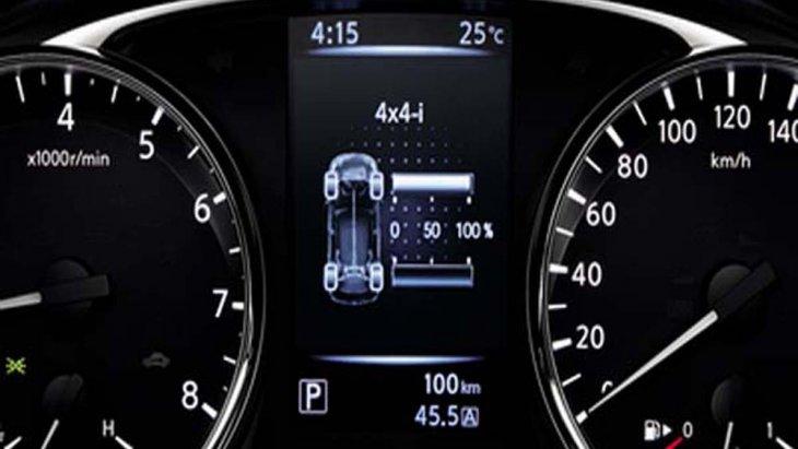 Nissan X-TRAIL ติดตั้งจอแสดงผลข้อมูลการขับขี่แบบ TFT 3D Meter