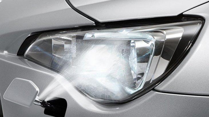 Subaru BRZ ติดตั้งระบบไฟหน้าแบบ HID พร้อมระบบเปิดไฟหน้าอัตโนมัติ และ ปรับระดับอัตโนมัติ เสริมด้วยการติดตั้งระบบฉีดล้างไฟหน้าอัตโนมัติ