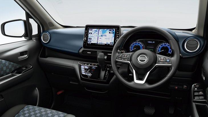โทนสีภายในใน Nissan Dayz ที่แฝงไปด้วยความหรูภายใน เริ่มจาก โทนดำ