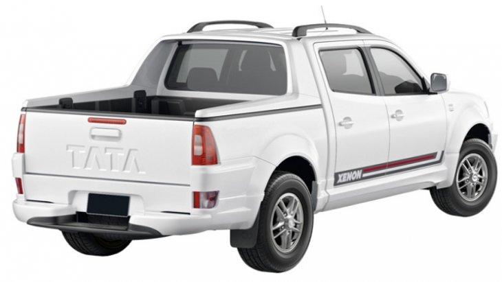 TATA Xenon Double Cab 150 NX-Treme มาพร้อมกับเอกลักษณ์เฉพาะตัวด้านการดีไซน์ที่เรียบๆ สไตล์สปอร์ต ที่สำคัญแข็งแกร่ง ทนทาน แถมราคาประหยัด