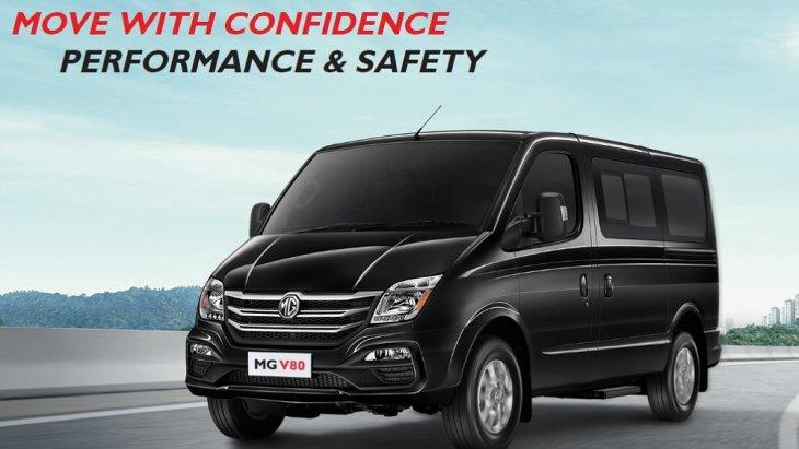 ราคา NEW MG V80 รุ่น 2.5L MT 988,000 บาท และรุ่น 2.5L SELEMATIC 1,038,000 บาท