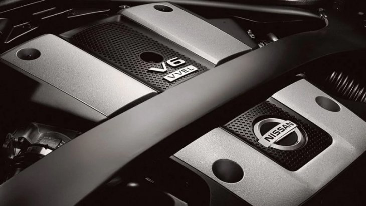 NISSAN 370Z® ROADSTER 2019 แรง เร็ว ด้วยเครื่องยนต์ในตำนาน VQ V6 รุ่นที่ 4 ขนาด 3.7 ลิตร ให้กำลัง 332 แรงม้า แรงบิด 270 ปอนด์ – แรงบิด ที่ 7,500 รอบต่อนาที