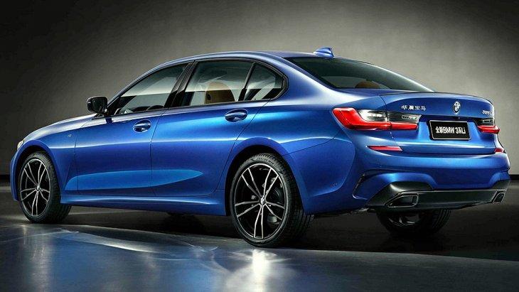 ll-new BMW 3 Series Li 2019 ของจีนจะได้ฐานล้อยาวกว่าไทย 190 มม. (ราว 5 นิ้ว)