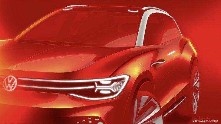 พรีวิวภาพโฆษณาเปิดตัวของ Volkswagen  I.D.Lounge  2020