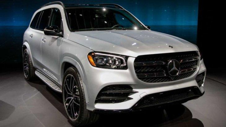 Mercedes-Benz GLS biturbo V8 4.0 ลิตรพร้อม EQ Boost เตรียมเปิดตัวครั้งแรกในงาน  New York Auto Show ภายในเดือนเมษายนนี้