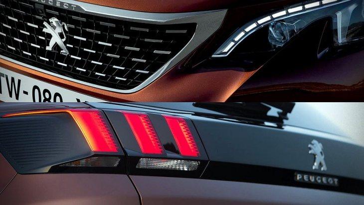 ส่วนรุ่นปัจจุบันยังคงดีไซน์เดิมแต่ลูกเล่นที่อาจทำให้ Peugeot 3008 น่าจดจำ ดูไม่ซ้ำกับรถครอสโอเวอร์เจ้าไหน อาจอยู่ตรงรอยหยักไฟหน้า และไฟท้ายเล็บสิงห์ที่เป็น Signature