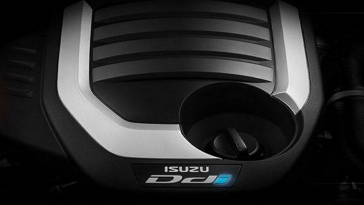 Isuzu MU-X  2019 ติดตั้งเครื่องยนต์ดีเซลแบบ 4 สูบ แถวเรียง 16 วาล์ว DOHC Commonrail Direct Injection พร้อม VGS Turbo และ อินเตอร์คูลเลอร์ ขนาด 1.9 ลิตร ให้กำลังสูงสุด 150 แรงม้า จับคู่กับระบบเกียร์อัตโนมัติ 6 สปีด พร้อม Rev Tronic