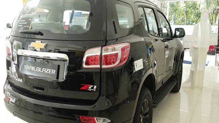 Chevrolet Trailblazer 2019 ติดตั้งไฟท้ายแบบ LED และ ไฟเบรกดวงที่ 3 แบบ LED ประตูท้ายเปิดได้ด้วยไฟฟ้า