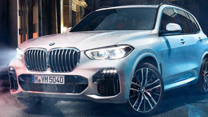 2.The All-new BMW X5 (2019) สง่างามและทรงพลังในทุกมุมมองรอบคันเสริมความดุดันสไตล์สปอร์ตด้วยกระจังหน้าขนาดใหญ่ทรงไตคู่