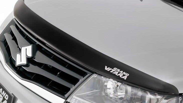 SUZUKI Grand Vitara 2019  แข็งแกร่งและดุดันด้วยกระหน้าดีไซน์ใหม่ที่มีขนาดใหญ่เข้ากับไฟหน้าได้อย่างลงตัว
