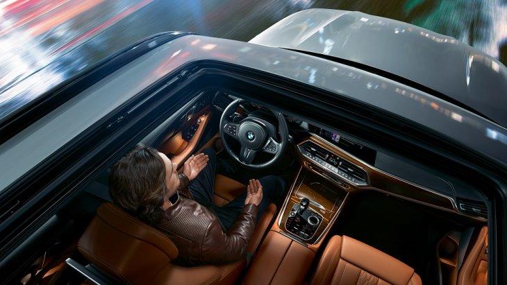 5.ภายในห้องโดยสาร The All-new BMW X5 (2019) ได้รับการออกแบบมาอย่างพิถีพิถันใส่ใจในทุกรายละเอียด หรูหราระดับระดับพรีเมียม