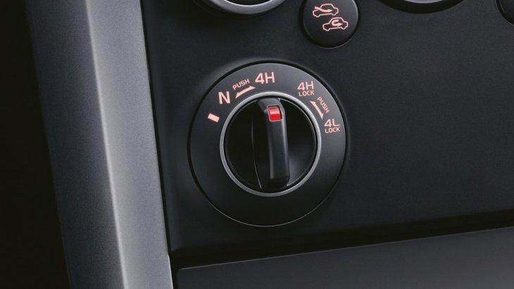สวิตช์ปรับโหมดการขับขี่อยู่บริเวณคอนโซลกลางเพื่อช่วยให้คุณสามารถโหมดการขับขี่ได้อย่างสะดวกและรวดเร็ว