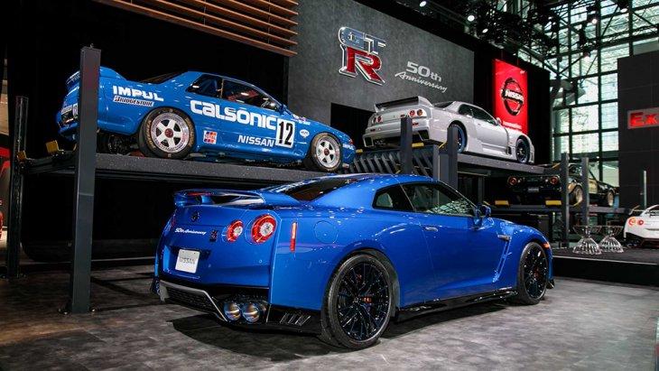 Nissan GT-R คือรถสปอร์ตมากสมรรถนะของ Nissan มากว่าครึ่งศตวรรษฉะนั้นการมาของ GT-R 50th Anniversary Edition ในครั้งนี้ต้องยกให้การออกแบบที่โดดเด่นการเปลี่ยนแปลงมีให้เห็นทั้งภายนอกเเละภายในห้องโดยสาร