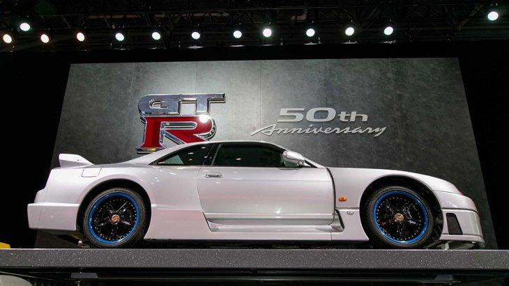 เฉลิมฉลอง ครึ่งศตววรษของ GTR  อย่างโดดเด่นในงาน New York Auto Show