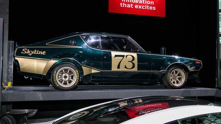 นอกจากนี้ Nissan ยังได้โชว์รถสปอร์ตในตำนานของค่ายในอดีตเพื่อให้คอสปอร์ต์รำลึกความหลัง