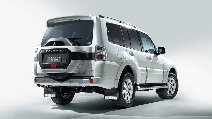 Mitsubishi Pajero Final Edition รุ่นพิเศษนี้ มีราคาเริ่มต้นที่ 4,530,600 เยน (ไม่รวมภาษีนำเข้า) หรือประมาณ 1,295,000 บาท ซึ่งได้มีการเปิดตัวอย่างเป็นทางการ และจัดจำหน่ายตั้งแต่วันที่ 24 เมษายน 2562 ที่ผ่านมา โดยมีจำนวนจำกัดเพียง 700 คันเท่านั้น