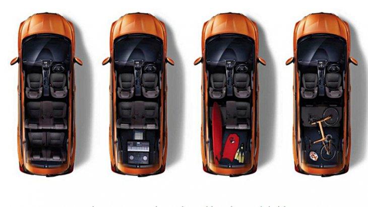 Nissan Livina ติดตั้งระบบปรับอากาศแบบธรรมดา หน้าจอแสดงผลข้อมูลการขับขี่แบบ MID พร้อมฟังก์ชั่นไฟแสดงผลแบบประหยัด ECO ติดตั้งช่องจ่ายไฟสำรองขนาด 12V ในเบาะนั่งทุกแถว และ เบาะนั่งด้านหลังสามารถปรับพับได้หลากหลายรูปแบบ