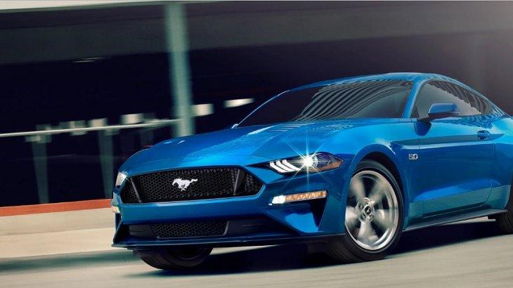 Ford Mustang BULLITT 2019 สปอร์ตคูเป้รุ่นพิเศษ ที่ได้รับรางวัลรถสปอร์ตขนาดกลางที่มีคุณภาพมากที่สุดในปี 2018