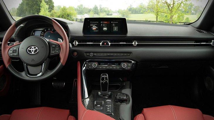 ภายใน Toyota Supra 2020