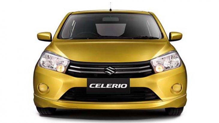Suzuki Celerio ได้รับการตกแต่งภายนอกอย่างพิถีพิถันติดตั้งกระจังหน้าแบบโครเมียม ไฟหน้าแบบมัลติรีเฟลกเตอร์พร้อมหลอดไฟแบบฮาโลเจนผสานเข้ากับกระจกมองข้างสีเดียวกับตัวรถปรับและพับได้ด้วยไฟฟ้า