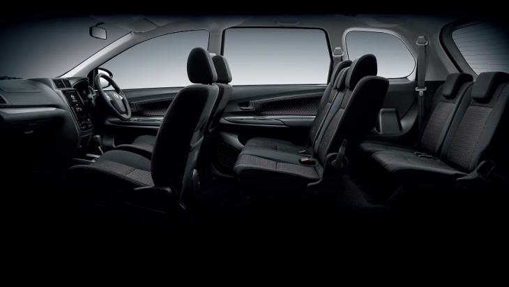 Toyota Avanza 2019  รถยนต์นั่งอเนกประสงค์ 5 ประตู 7 ที่นั่ง ที่มาพร้อมกับภายในห้องโดยสารที่ความกว้างขวาง นั่งสบายทุกที่นั่ง
