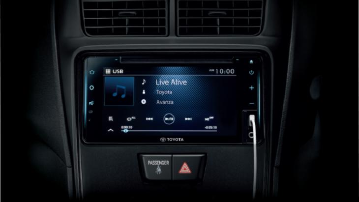 หน้าจอแสดงผลส่วนกลางขนาด 7 นิ้ว ที่มาพร้อมกับเครื่องเล่นวิทยุที่สามารถเชื่อมต่อได้ทั้ง  Bluetooth , USB และฟังก์ชัน T-Link ที่สามารถเชื่อต่อแอปพลิเคชั่นนำและฟังเพลงออนไลน์ได้อย่างง่ายดาย