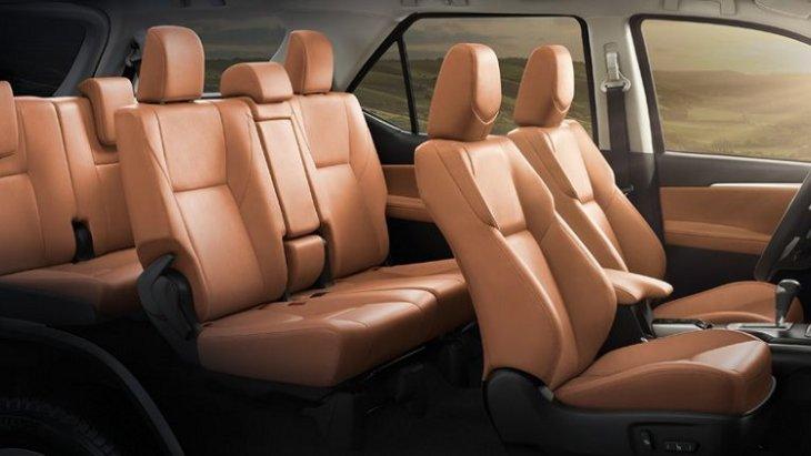 ภายในห้องโดยสาร New Toyota Fortuner 2.4 G กว้างขวาง หรูหรา สไตล์สปอร์ต เหนือนิยามแห่งความมีระดับ ตอบรับทุกไลฟ์สไตล์ที่เหนือกว่า