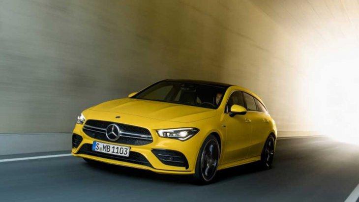 สมรรถนะความแรงของ Mercedes-AMG CLA 35 4Matic Shooting Brake อยู่ที่ 306 แรงม้าจากเครื่องยนต์ 4  สูบ 2.000 ซีซีเทอร์โบชาร์จเจอร์ ในขณะที่ความเร็วสูงสุดอยู่ที่ 250 กม./ชม