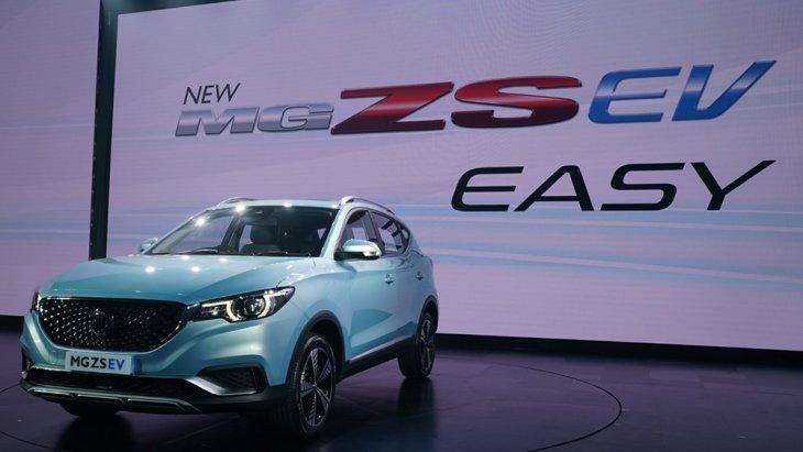 MG ZS EV  เปิดตัวอย่างเป็นทางการแล้วในประเทศไทยพร้อมเปิดให้จับจองในโชว์รูม MG ทั่วประเทศด้วยราคาสุดคุ้ม 1,190,000 บาท