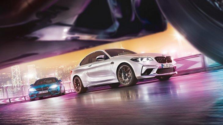 BMW M2 Competition มาพร้อมกับอัตรเร่งจาก 0 ถึง 100 กม./ชม. ภายในเวลา 4.2 วินาที ในรุ่นเกียร์ M DCT