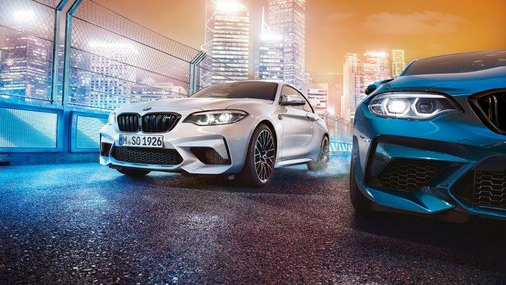 เสริมความเป็นสไตล์สปอร์ตให้กับ BMW M2 Competition ด้วยล้ออัลลอย M ขนาด 19 นิ้ว