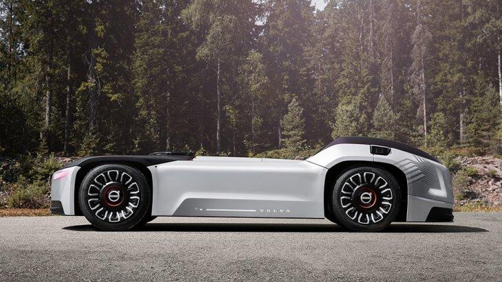 Volvo Vera รถหัวลากไร้คนขับจะขับเคลื่อนด้วยพลังไฟฟ้า ถูกพัฒนาสำหรับการขนส่งในระยะใกล้