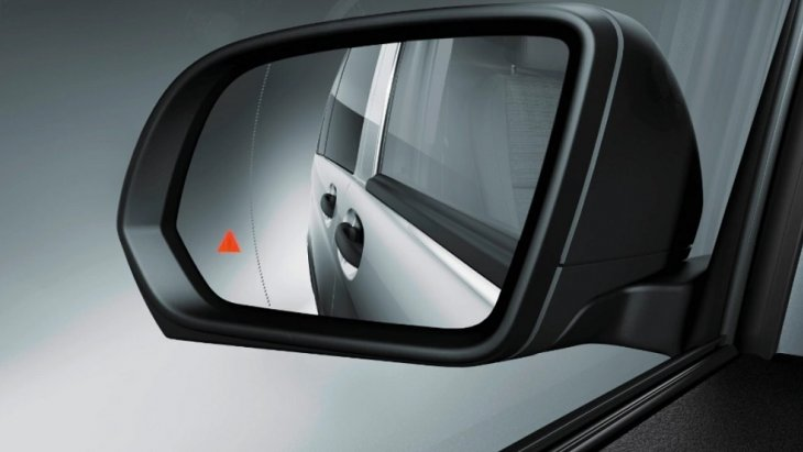 ระบบช่วยตรวจสอบจุดบอดจะช่วยป้องกันการเกิดอุบัติเหตุขณะเปลี่ยนช่องทางเดินรถ