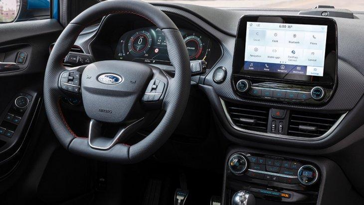 ระบบการเชื่อมต่อ SYNC 3 ที่สั่งงานได้ด้วยเสียง รองรับ Apple CarPlay และ Android Auto