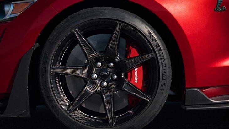 ล้อแม็กซ์ของ Ford Mustang Shelby GT500 2020