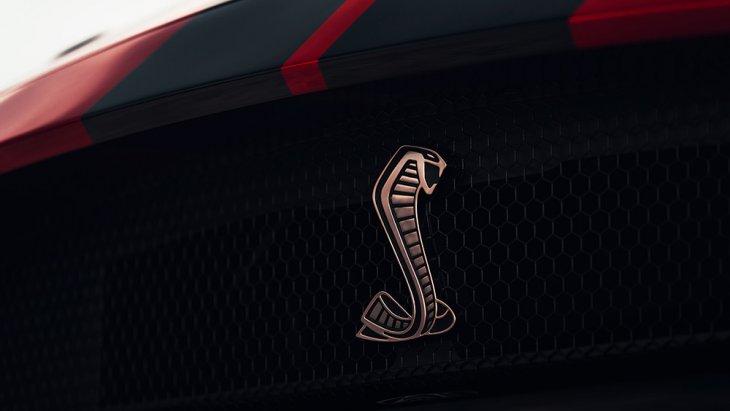 โลโก้สัญลักษณ์งูจงอาง ของ Ford Mustang Shelby GT500 2020