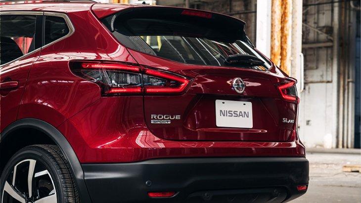 ดีไซน์ด้านท้่ายของ Nissan ROGUE SPORT 2020