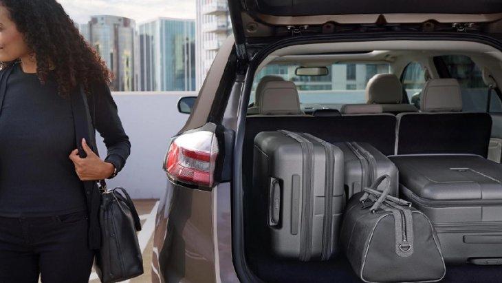 ห้องเก็บสัมภาระด้านหลังกว้างขวาง สามารถบรรจุสัมภาระได้มากถึง 73.4 ลูกบาศก์ฟุต