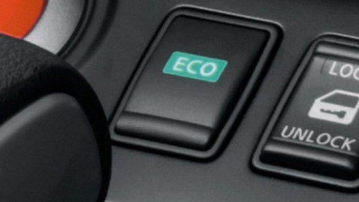 ECO-Mode ช่วยประหยัดพลังงานในการขับเคลื่อน