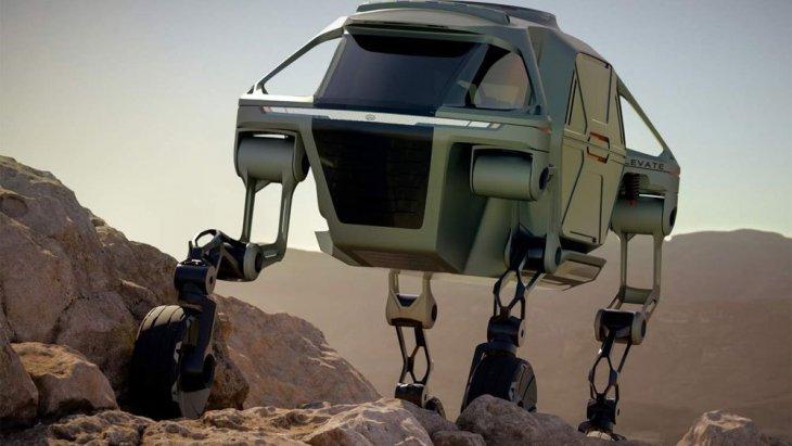 ตัวรถสามารถดัดแปลงใช้งานได้หลากหลายตามแต่ละภารกิจ ตั้งแต่สำรวจพื้นที่ที่รถออฟ-โรดเข้าไปได้ยาก