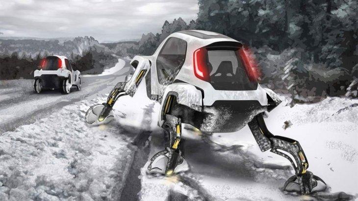 ขาของหุ่นยนต์แต่ละข้างสามารถยกตัวขึ้นเพื่อเพิ่มความสูงให้กับห้องโดยสาร บิดตัวให้เหมาะสมกับภูมิประเทศ และยังสามารถจัดวางตำแหน่งความสูงได้แบบอสมมาตร นั่นทำให้พื้นที่ต่างระดับไม่ใช่ปัญหาสำหรับ ELEVATE ในขณะปฏิบัติงาน
