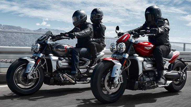 Triumph Rocket 3 R และ Triumph Rocket 3 GT 2019 โฉมใหม่ น่าจะเปิดตัวในไทย เพื่อประกบ Ducati Diavel และ XDiavel หรือ Harley Davidson ตระกูล Speedster ด้วยเช่นกัน