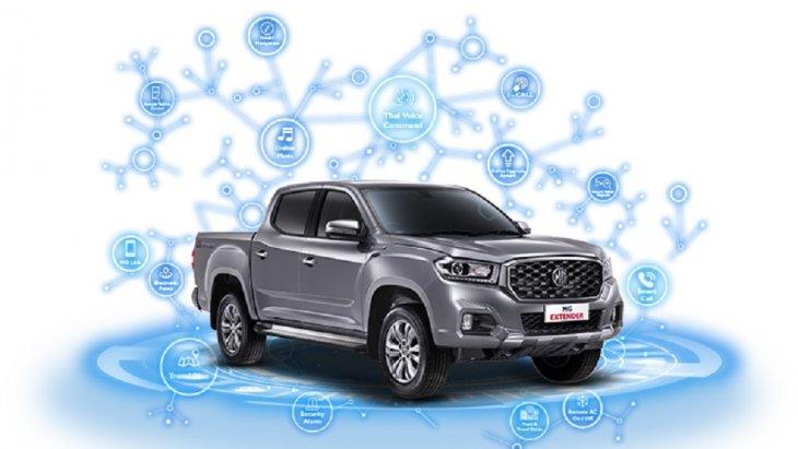 NEW MG EXTENDER 2019-2020 มาพร้อมกับเทคโนโลยี i-SMART เพื่อให้คุณและรถสามารถสื่อสารกันได้เสมือนเป็นหนึ่งเดียวกัน