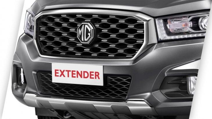 กระจังหน้าดีไซน์โมเดิร์น สวย โดดเด่น เสริมความแข็งแกร่งและดุดัน น่าเกรงขามเป็นเอกลักษณ์เฉพาะตัวของ NEW MG EXTENDER 2019-2020