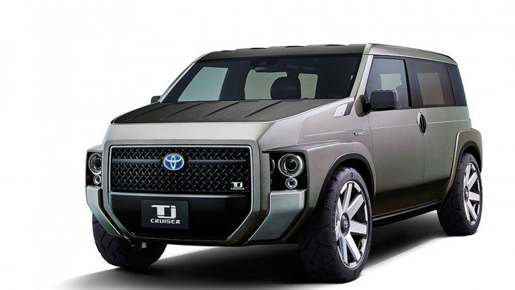 Tj CRUISER รถอเนกประสงค์คอมแพกต์คาร์ทรงกล่อง ของ Toyota มีแนวคิดคล้าย Xpander จากค่ายมิตซูคู่แข่ง